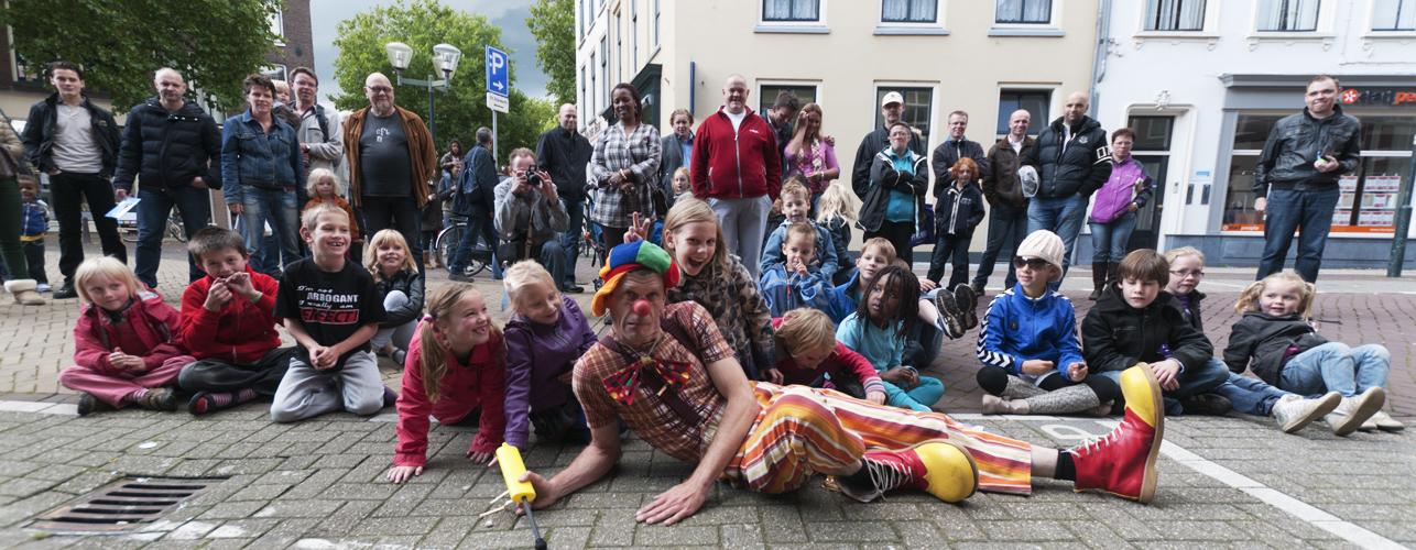 straattheater op het festival