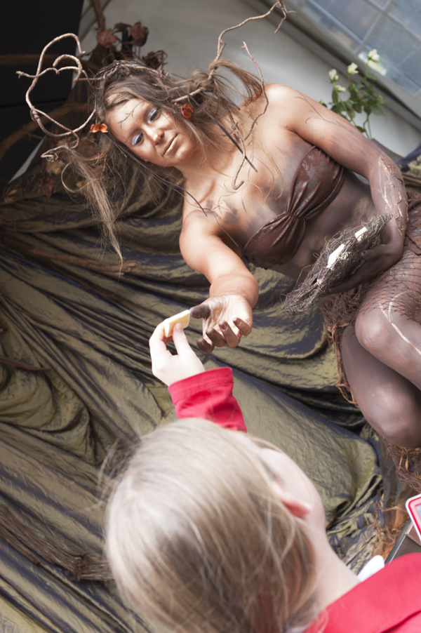 bodypaint Chocoladefestival Zutphen